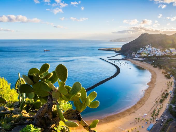 Les Canaries, archipel espagnol au large de la côte nord-ouest de l'Afrique,