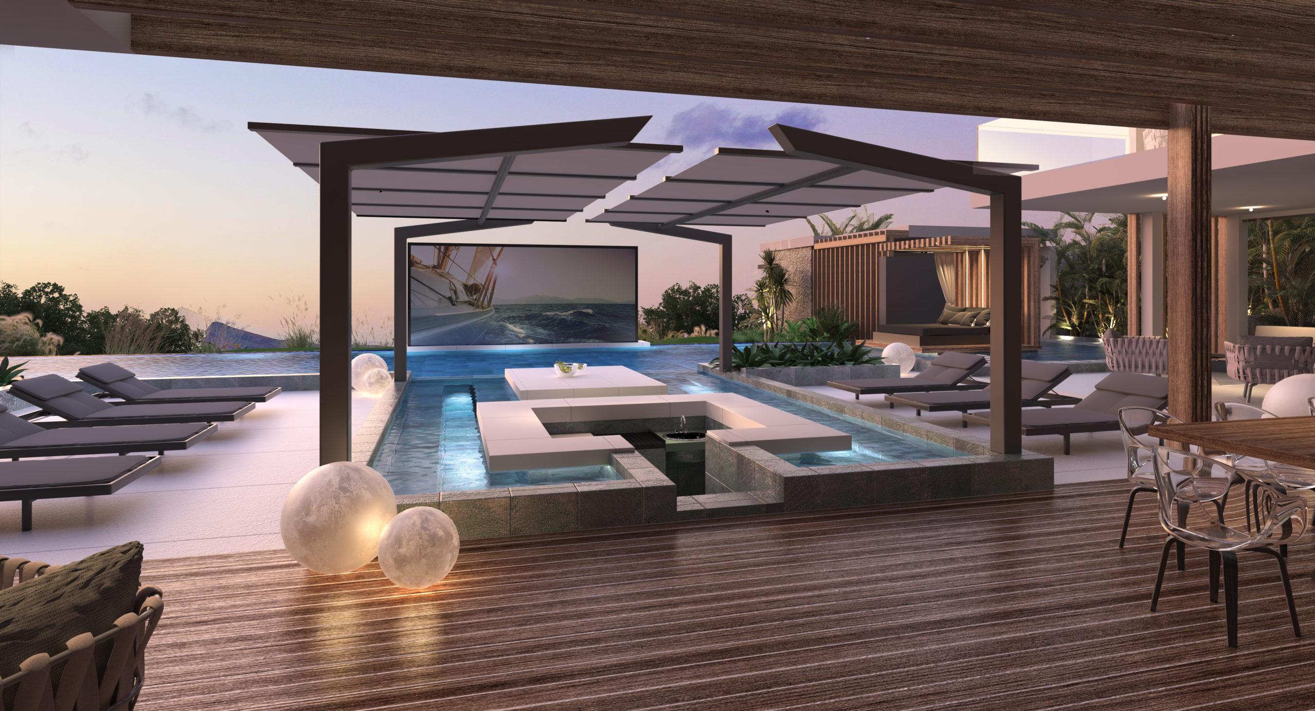 villa à vendre dans le projet Cap Marina à Cap Malheureux