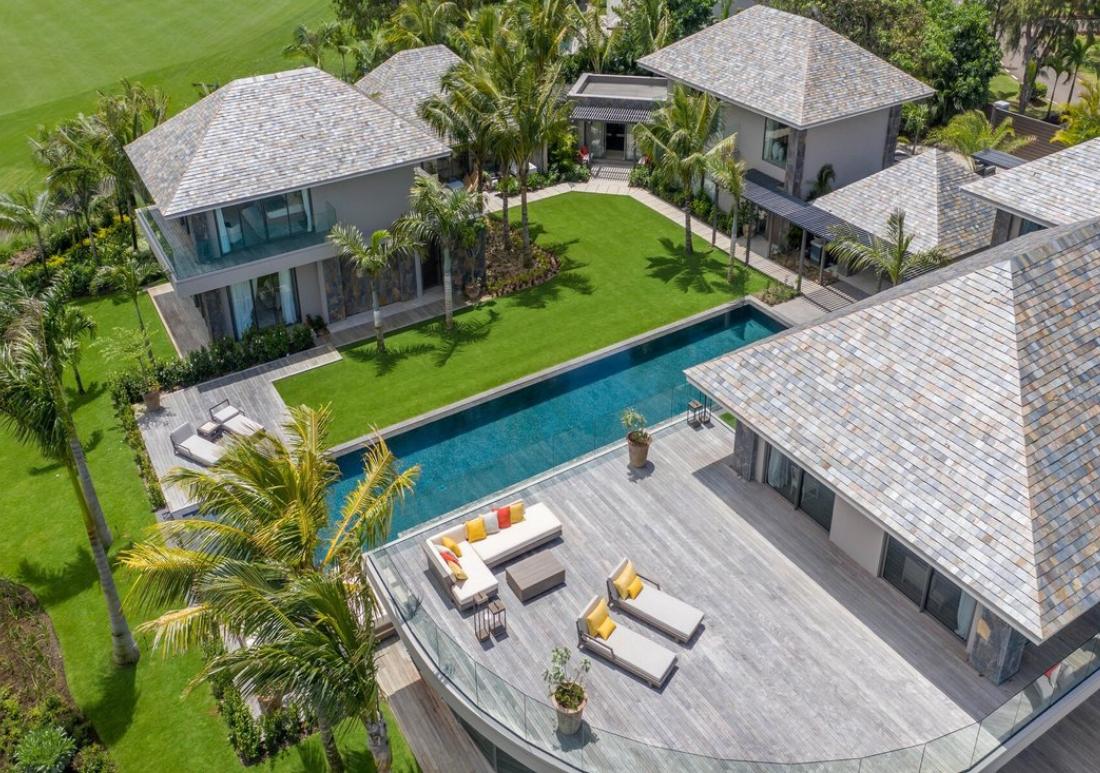 villa vue sur la mer île Maurice