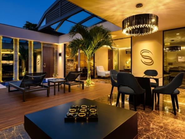 Villas individuelles le complexe offre des prestations exclusives d'hôtellerie
