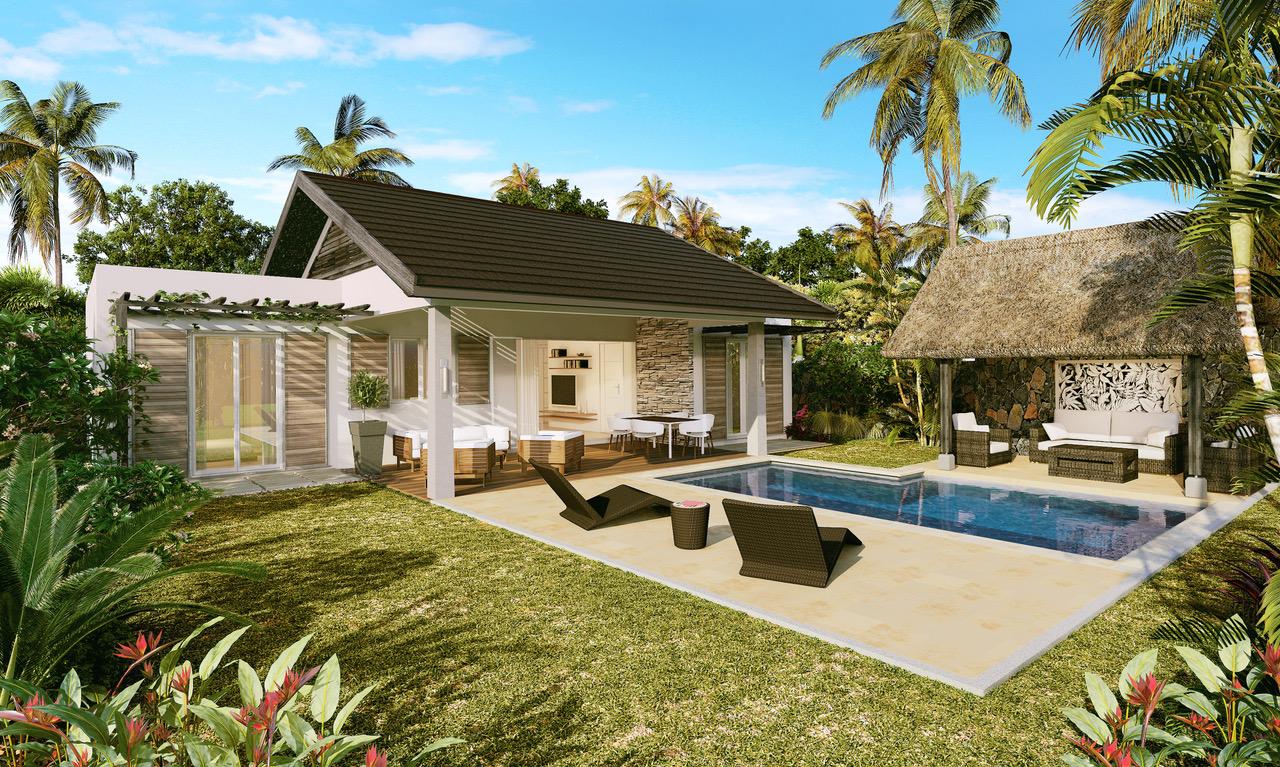 villa de 125 m2, son espace de vie spacieux est une élégante combinaison