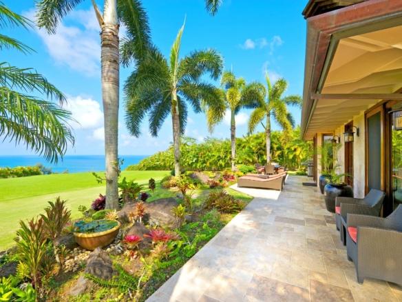 À vendre domaine vue spectaculaire sur l'océan Pacifique   Hawaï