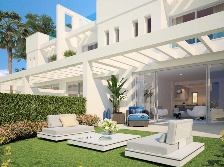 Maisons de style moderne3 chambres et 2.5 salles de bains Calahonda