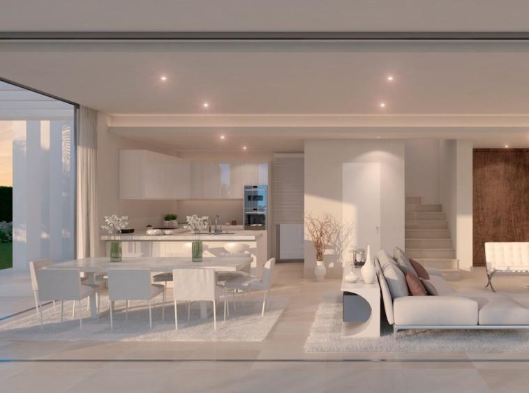Villas exclusives sur plan de style moderne à La Cala de Mijas