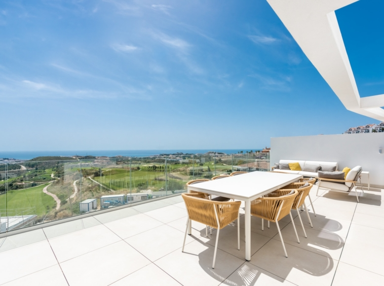 Appartements contemporain à 5 min de La Cala de Mijas Costa Del Sol