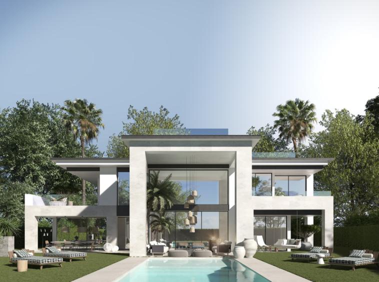 Villa Puerto Banús Marbella Espagne
