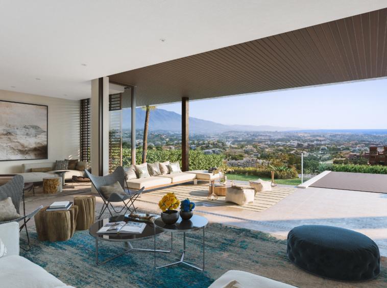 Villas de luxe en contact avec l'environnement, Benahavis (certification BREEAM®)