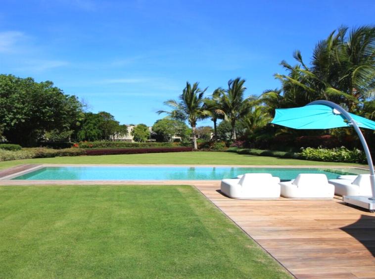 BEAU CHAMP - Villa de prestige meublée avec accès à l'Ile aux Cerfs - 3 chambres - ILE MAURICE