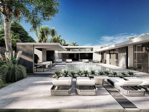 Développement de 8 villas sur mesure un Design unique sur l'île Maurice