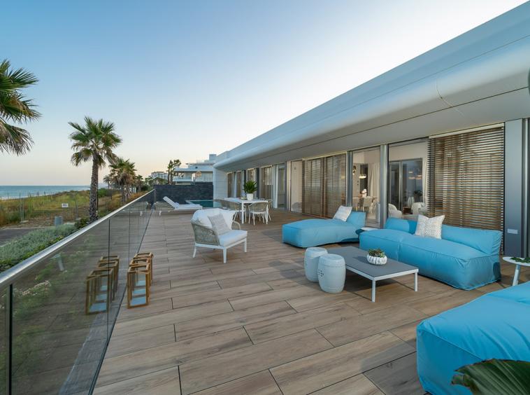 Développement exclusif en bord de mer sur la Costa del Sol (Estepona, Malaga - Espagne)
