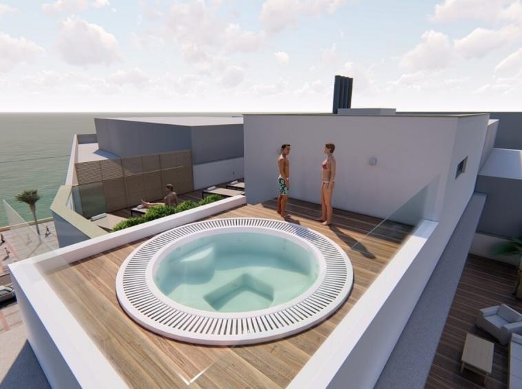 Estepona, immeuble moderne et exclusif avec seulement 12 appartements