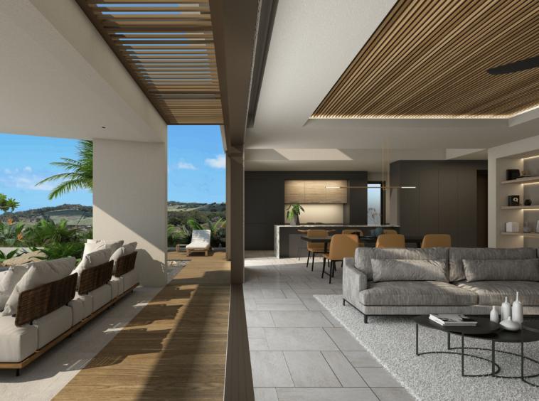 Heritage Villas Valriche à l'Ile Maurice - construction - Architecture