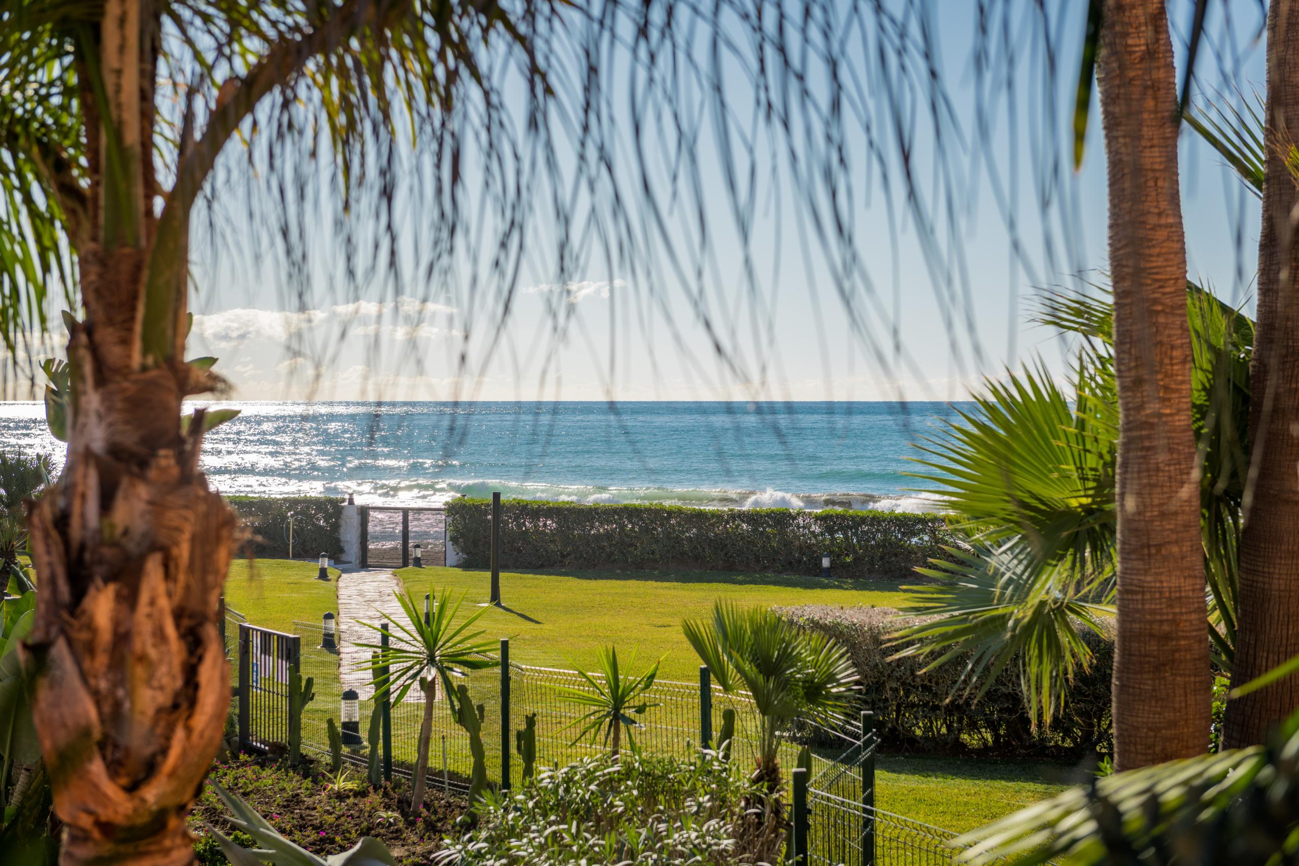 Appartement Jardin au bord de la plage - Méditerranée Marbella, Malaga