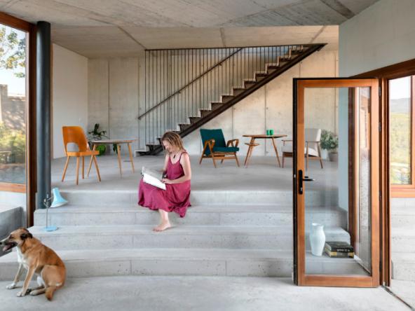 Maison individuelle passive et bioclimatique - Barcelone - Espagne