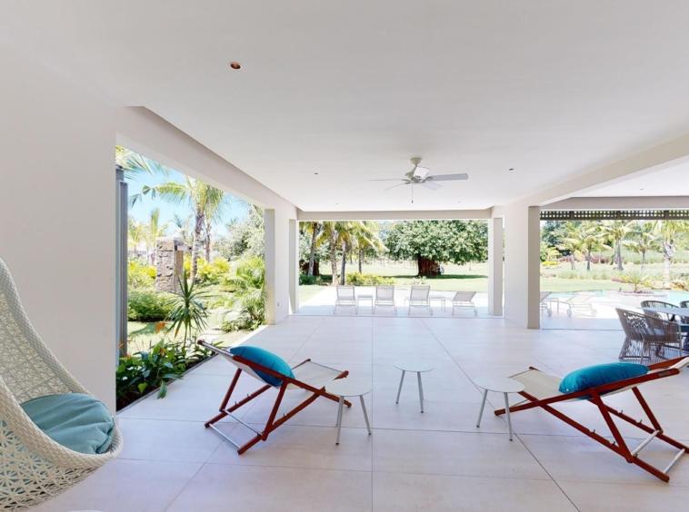 #NEW Villa moderne 5 chambres, piscine toit-terrasse, jardin tropical, Golf île Maurice