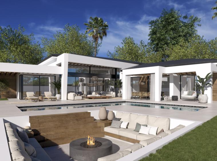 Villas de luxe modernes à Nueva Andalucía, Marbella
