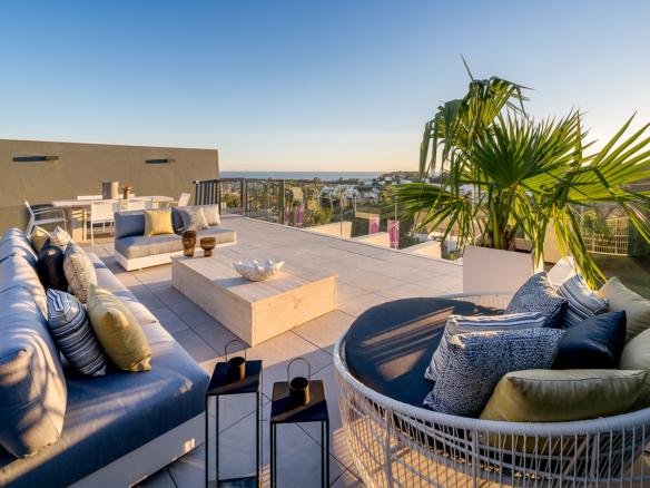 EntreEsteponaetMarbella appartements penthouses à vendre - Espagne