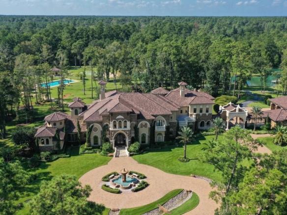 Oasis privée avec terrain de golf piscine olympique et plus   Houston Texas