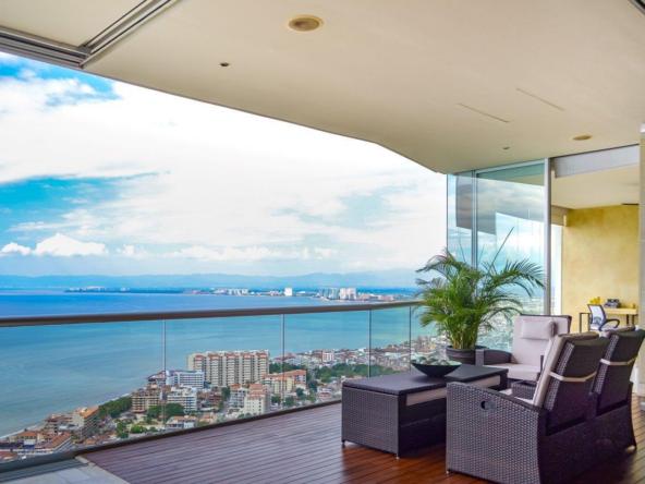 Penthouse vues panoramiques océan Pacifique - Puerto Vallarta Mexico (2)