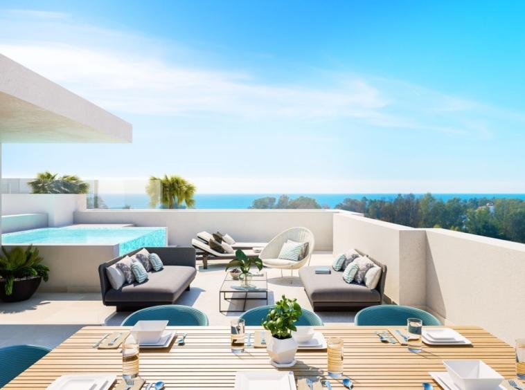 TreeTops Marbella est un nouveau projet de 23 maisons exclusives à côté de Guadalmina Golf.