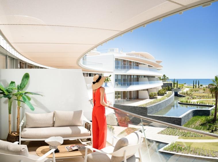 Appartements Penthouses Villas à vendre en bord de mer - Estepona Málaga