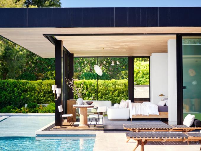 Une maison aérée à Los Angeles conçue par Jeremiah Brent et Nate Berkus