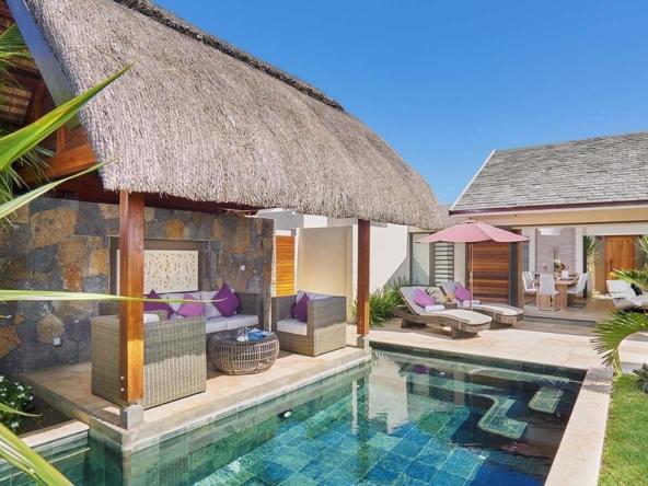 Villa Clos Du Littoral de 3 chambres à vendre – Grand Baie – île Maurice3 Le salon