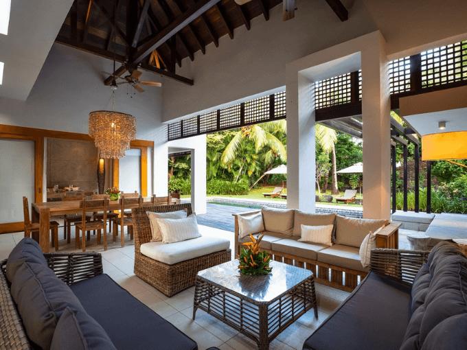 Villa contemporaine IRS de 4 chambres à vendre - Flacq - île Maurice