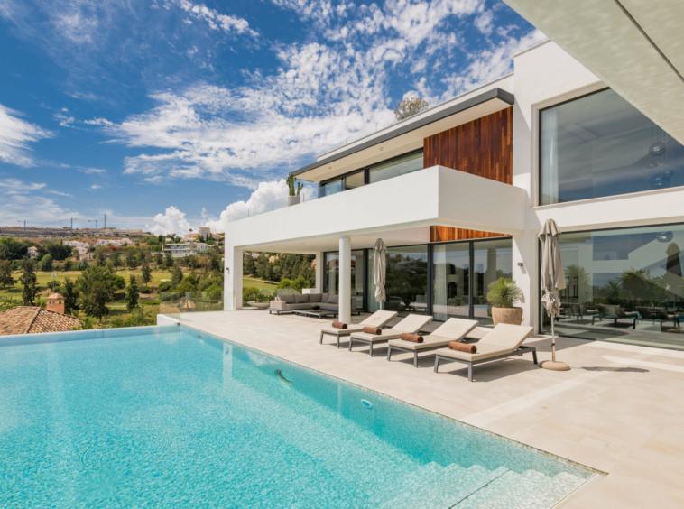 Villa contemporaine moderne à vendre à Marbella Espagne