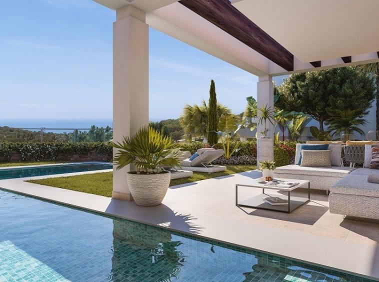 Villa de luxe vue imprenable sur la mer et le golf à Calahonda, Mijas Costa