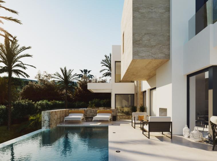 Construction villa de luxe à vendre à Benahavis