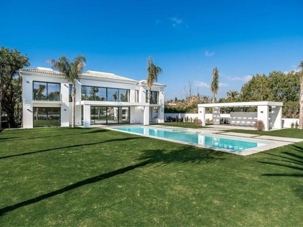 Villa spectaculaire de 5 chambres au design ultra contemporain Espagne Marbella (2)