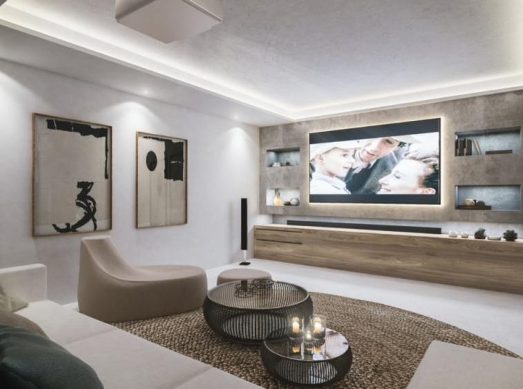 Villas de 4 chambres, salle de cinéma, salle de sport, sauna, Málaga