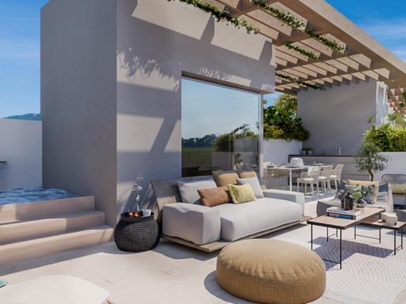 Villas en Construction à Benahavís, Málaga, España