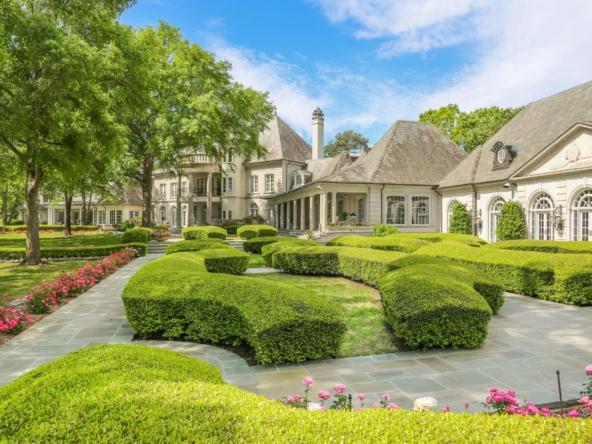 Vaste domaine style baroque à vendre, Pittsburg, Texas États-Unis