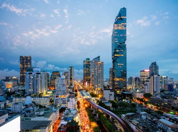 Bangkok Ritz-Carlton Duplex en vente vue incroyable sur la ville