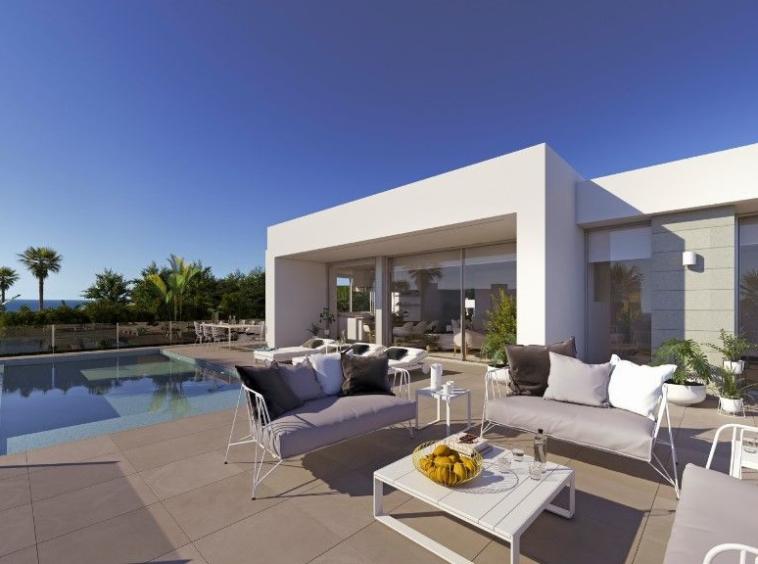 villa de 2 étages, située à Cumbre del Sol, Benitachell
