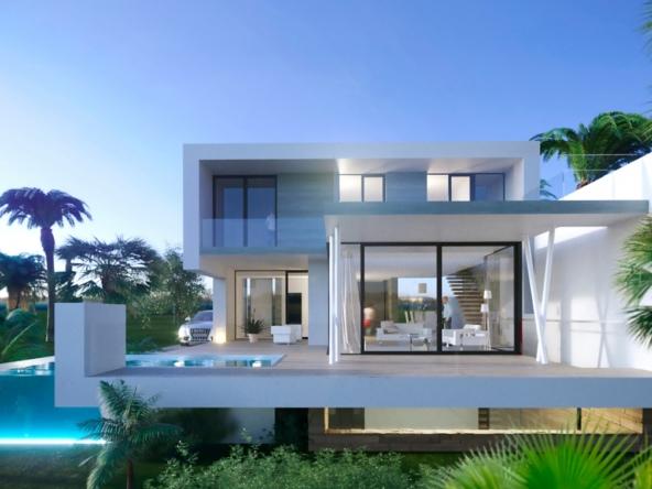 villas moderne à vendre   Aéroport de Malaga à seulement 30 min